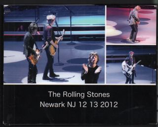 The Rolling Stones Newark NJ 12 13 2012. New Jersey Newark