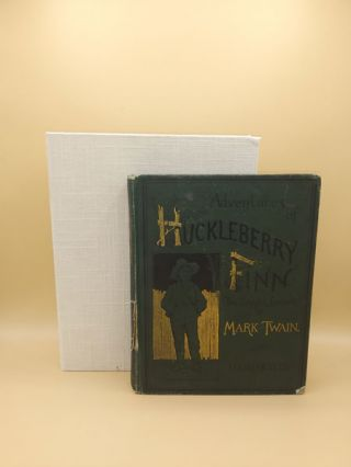 Adventures of Huckleberry Finn (Tom Sawyer's Comrade). Mark Twain