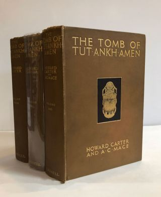 The Tomb of Tut-ankh-amen: Discovered by the Late Earl of Carnavon and Howard Carter...