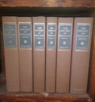 The History of England (6 volumes). David Hume