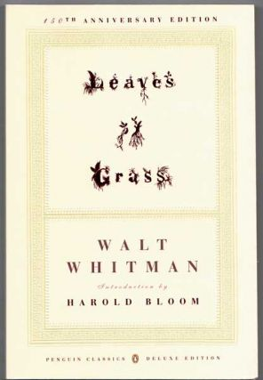Leaves of Grass. Walt Whitman, Harold Bloom, Introduction