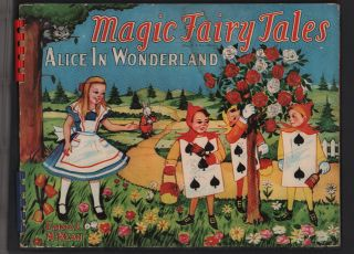 Magic Fairy Tales: Alice in Wonderland (Movable Book). Emma C. McKean, Lewis Carroll