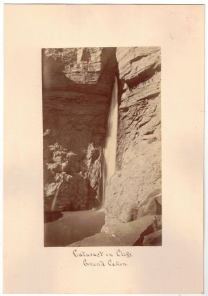 Cataract in Cliff, Grand Canyon [Photograph]. William Henry Jackson