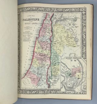 Mitchell's New General Atlas, Containing the Maps of the Various Countries of the World, Plans of Cities, Etc., Embraced in Fifty-Five Quarto Maps. Forming a Series of Eighty-Seven Maps and Plans, Together with Valuable Statistical Tables