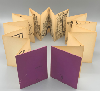 Die Party (Folded Story No. 4). Warja Honegger-Lavater, Four Temperaments