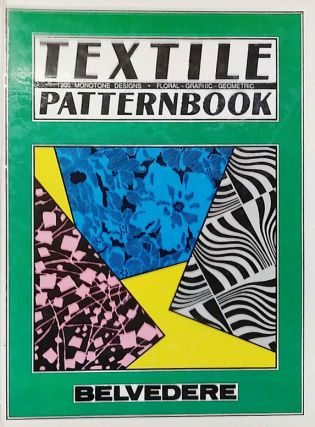 Textile Pattern Book: 120 Monotone Designs. Floral, Graphic, Geometric. Wolfgang Hageny