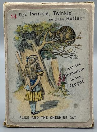 The New and Diverting Game of Alice in Wonderland consisting of Forty-Eight Pictorial Cards Depicting the most famous characters and scenes in the above work. Adapted, drawn in fac-simile, and elaborately rendered in colours. From Sir John Tenniel's Original Designs By Miss E. Gertrude Thomson [Deck of Cards]