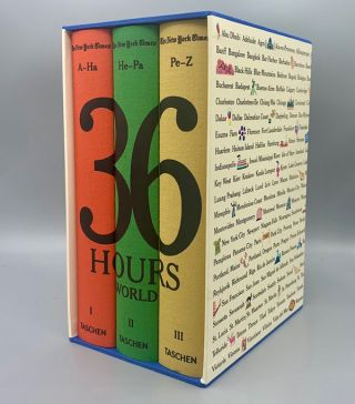 The New York Times: 36 Hours World (3 Volumes