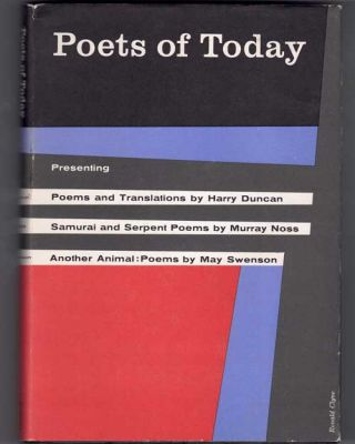 Poets of Today: Harry Duncan- Poems and Translations; Murray Noss- Samurai and Serpent Poems; May...