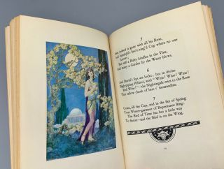 Rubaiyat of Omar Khayyam: The First and Fourth Renderings in English Verse by Edward Fitzgerald. With Illustrations by Willy Pogany