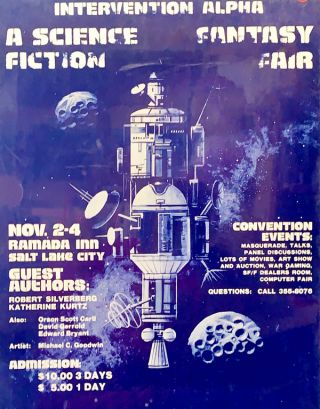 Salt Lake City Science Fiction Fantasy Fair (Poster
