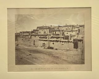 Section of South Side of Zuni, Pueblo, N.M. No. 15 [Photograph]. Timothy O'Sullivan