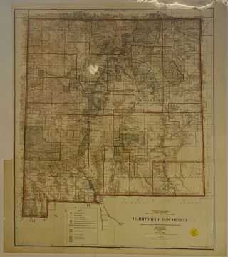 Territory of New Mexico. William A. Richards, General Land Office Commissioner Department of the...