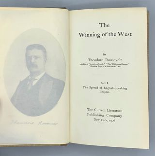 The Winning of the West (6 volumes)