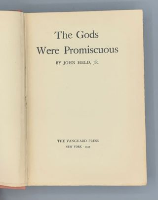 The Gods Were Promiscuous