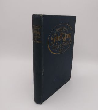Memoirs of John R. Young, Utah Pioneer, 1847 (inscribed by the author to Anton H. Lund). John Ray...