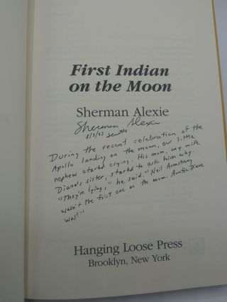 First Indian on the Moon