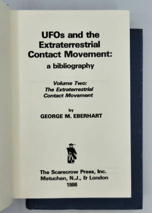 UFOs and the Extraterrestrial Contact Movement: A Bibliography (2 volumes)